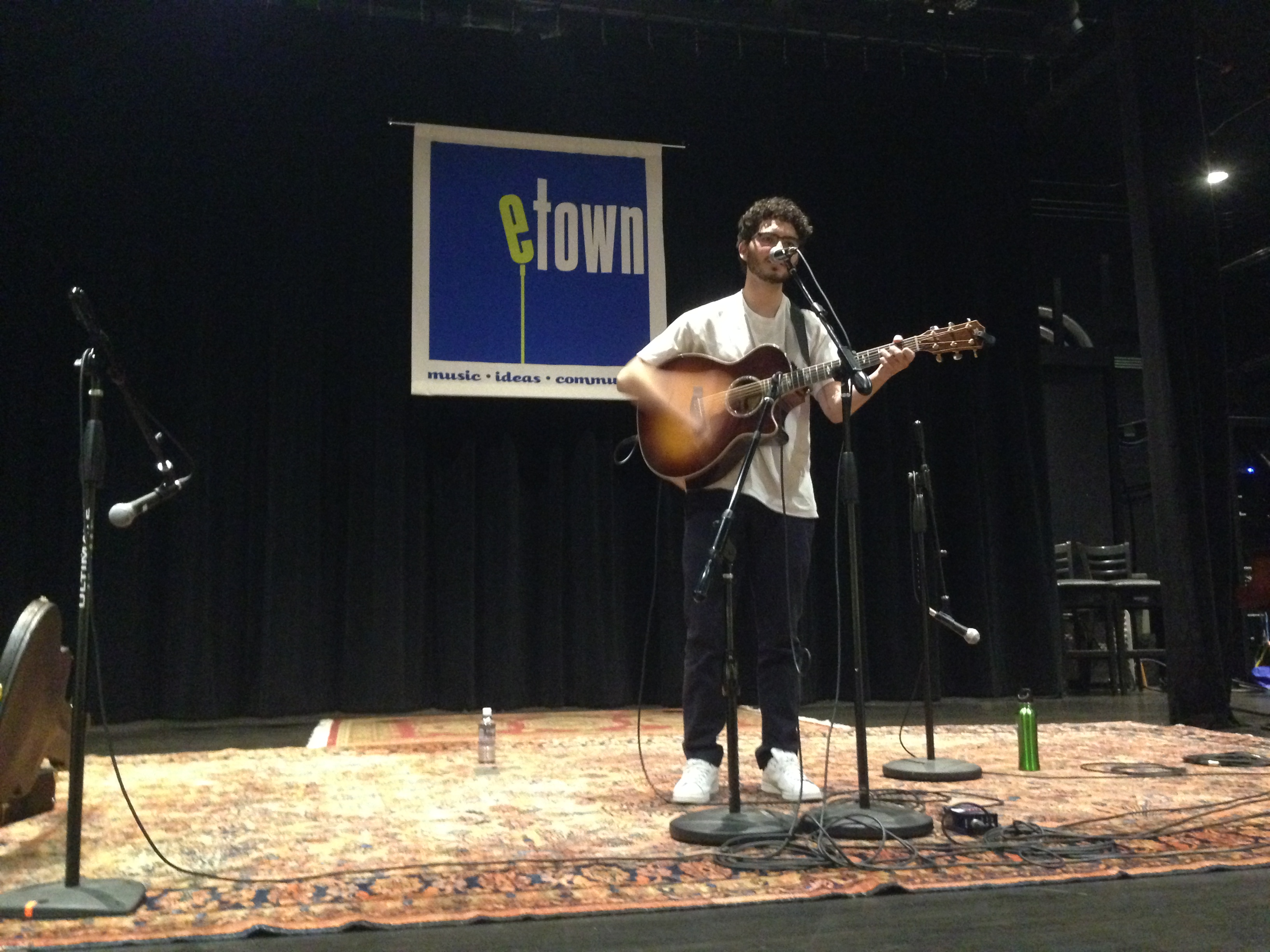 Photo: Avi Kolbrener of eTown Handmade Songs program