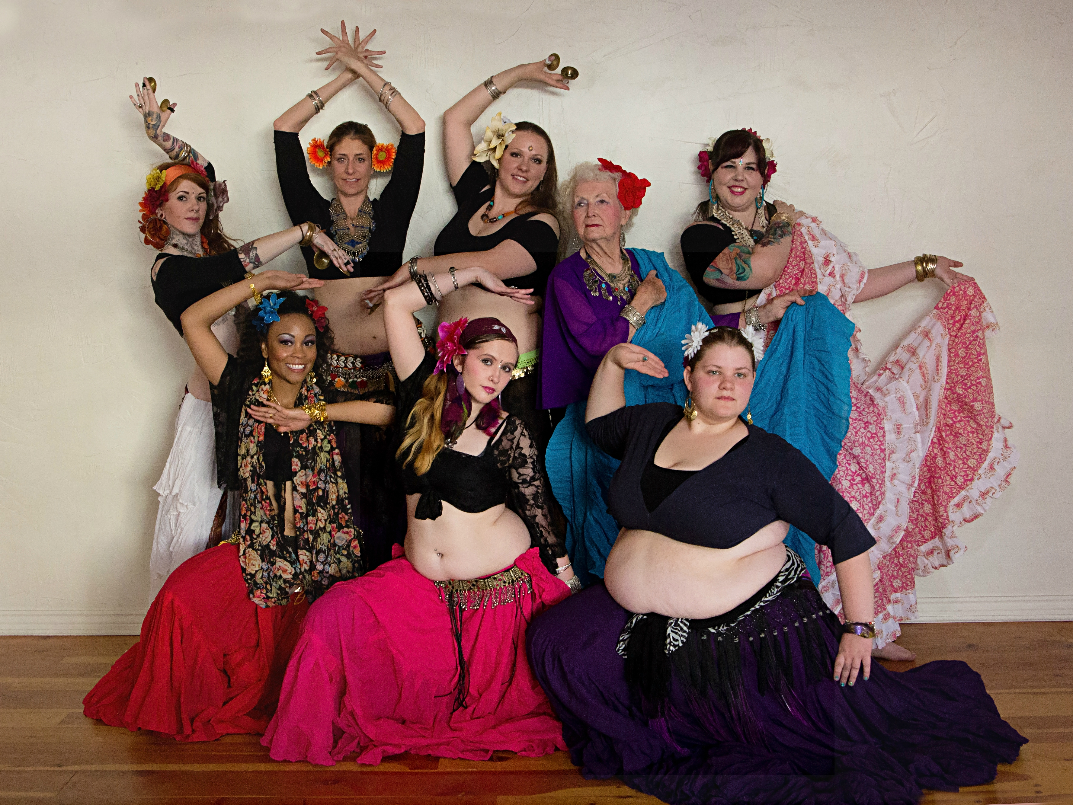 Photo: Desert Dearly Belly Dance Troupe