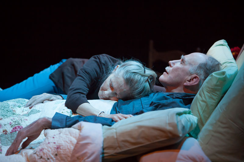 Photo: Joyce Cohen and Mike Hartman in Benediction