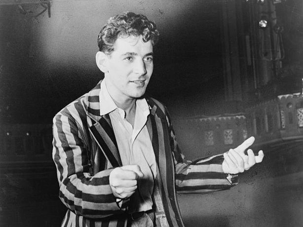 <p>Leonard Bernstein in 1945.</p>