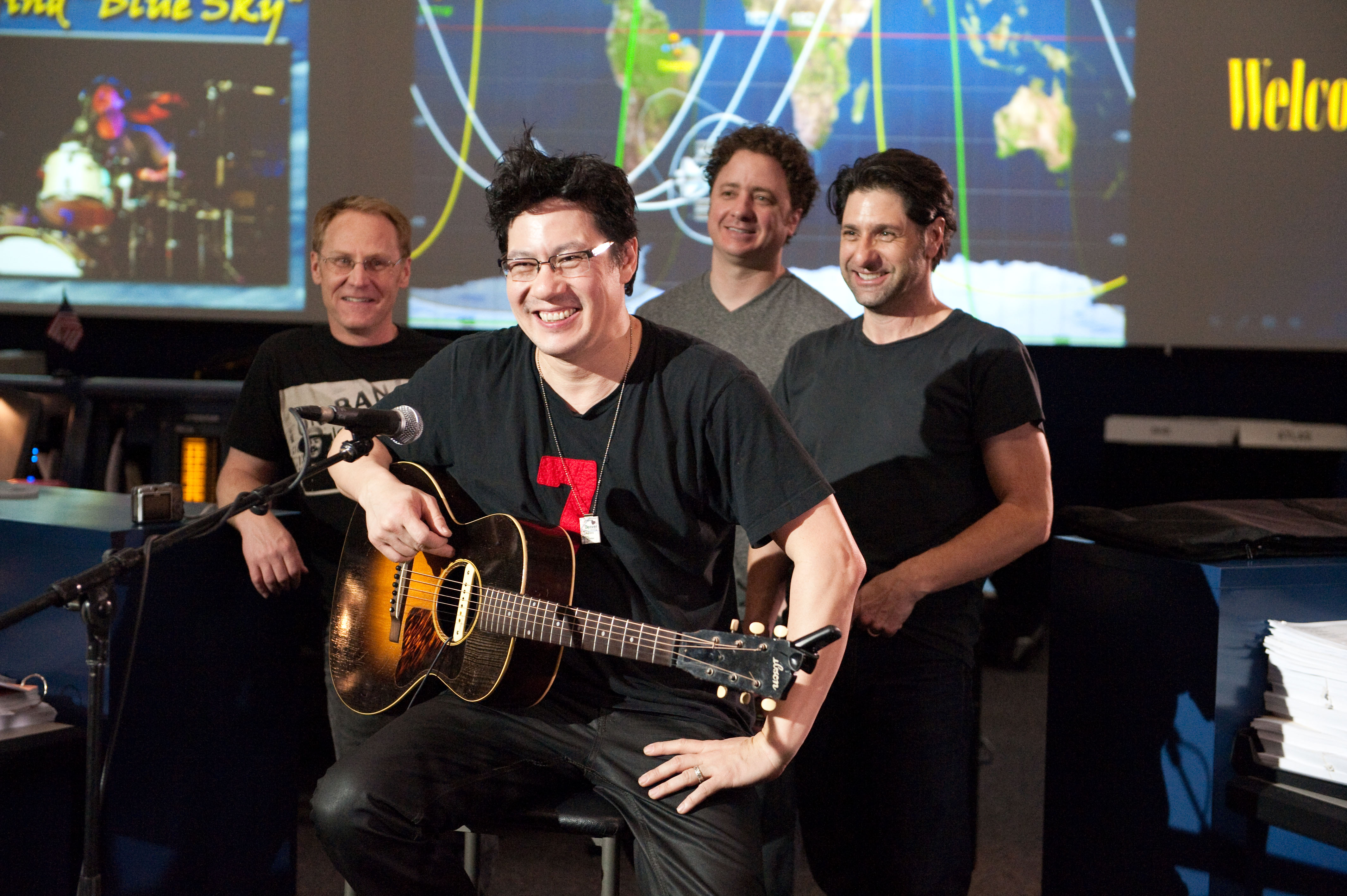 <p>Big Head Todd and the Monsters. From left to right, Rob Squires, Todd Park Mohr, Jeremy Lawton, and Brian Nevin.</p>