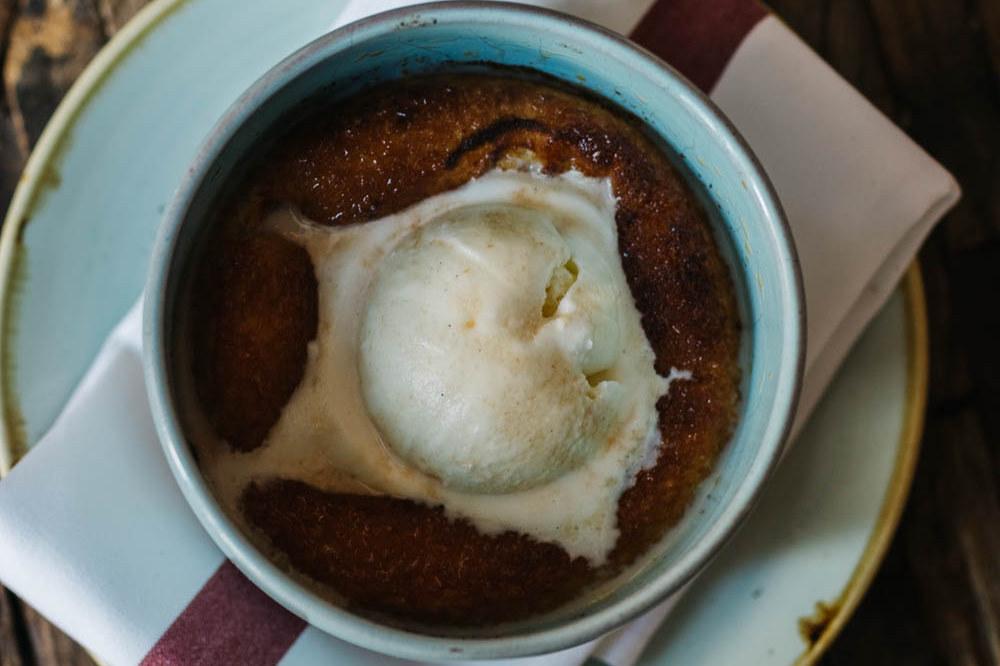 Photo: Bin 707 Foodbar Peach Cobbler
