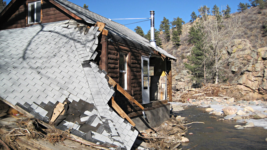 Photo: Flood damage Boulder County