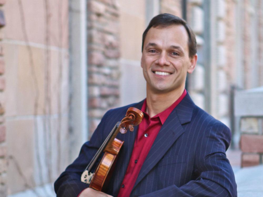Photo: Charles Wetherbee, violin