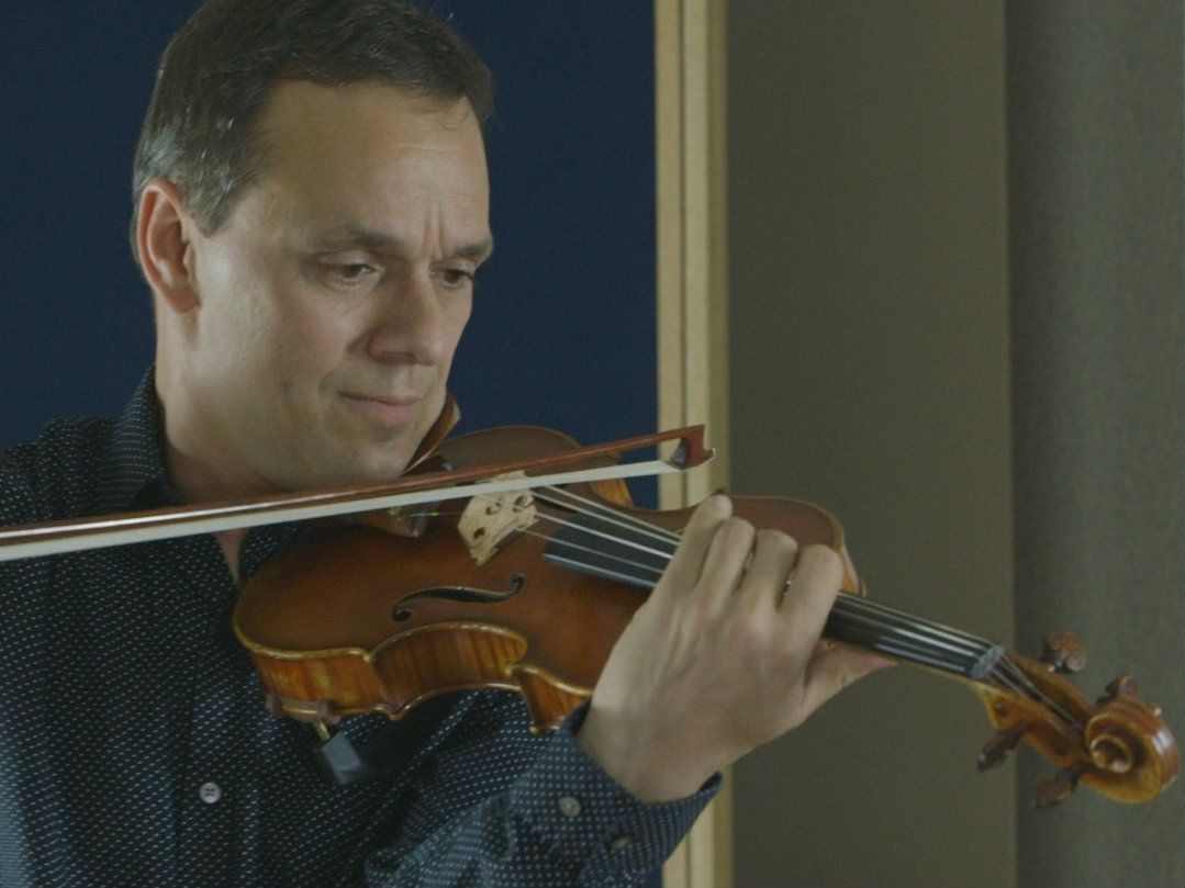Photo: Charles Wetherbee in the CPR Performance Studio