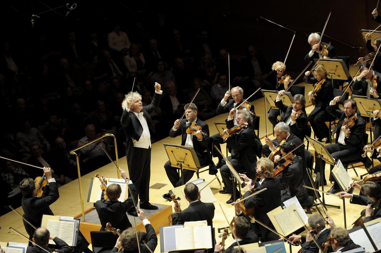 Photo: Berlin Philharmonic at Carnegie Hall
