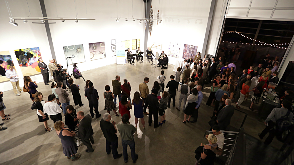 <p>The Colorado Symphony's first Classically Cannabis program featured classical music inside and marijuana smoking outside on the gallery's enclosed patio.</p>