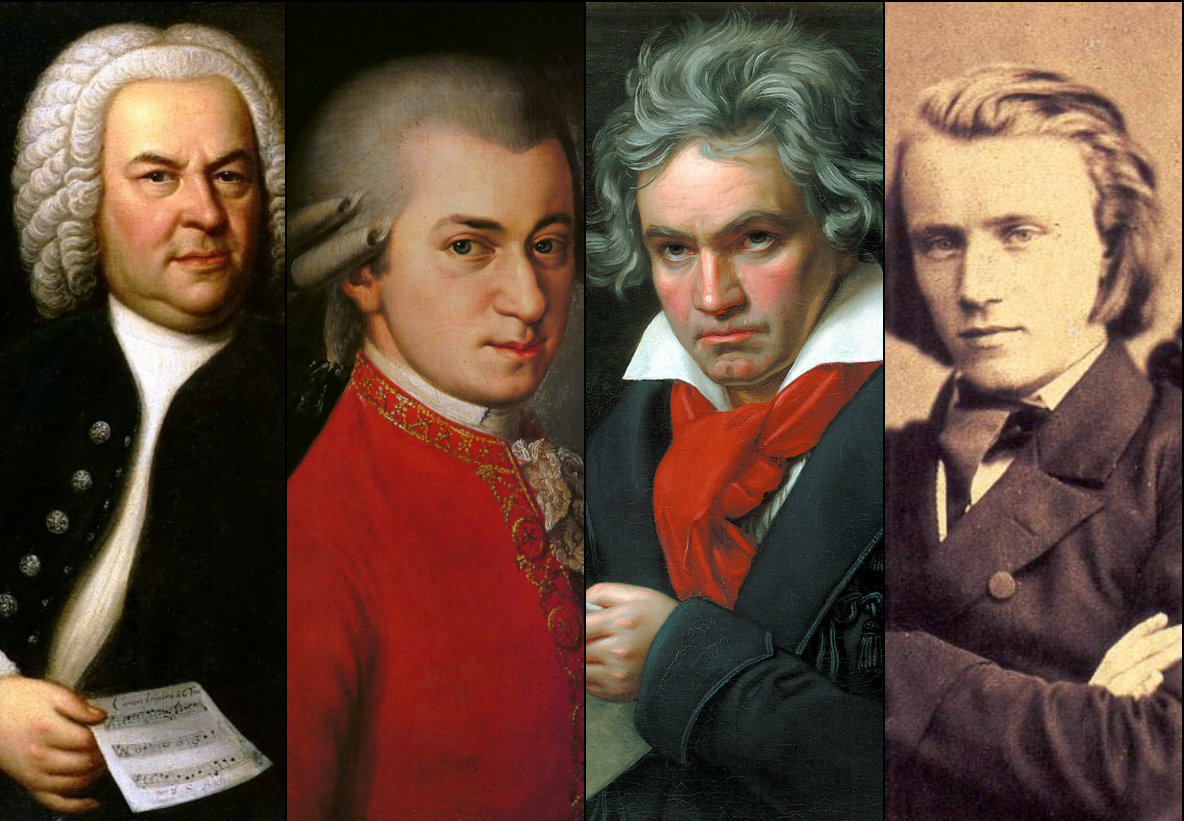 Bach, Mozart, Beethoven and Brahms will all be there!