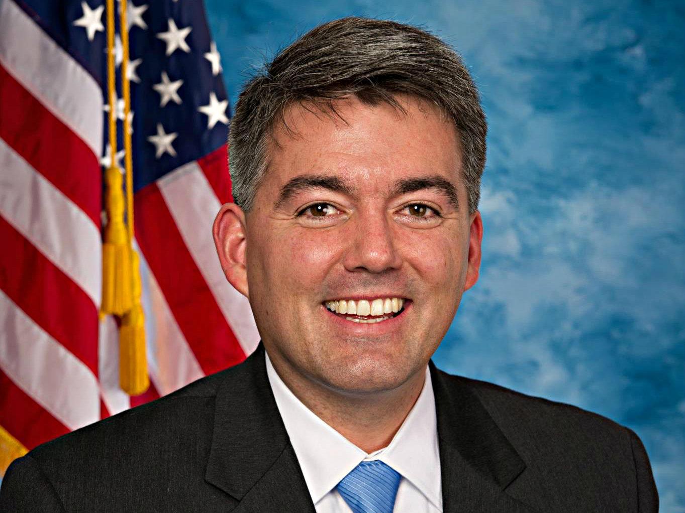 <p>Representative Cory Gardner (R-CO)</p>