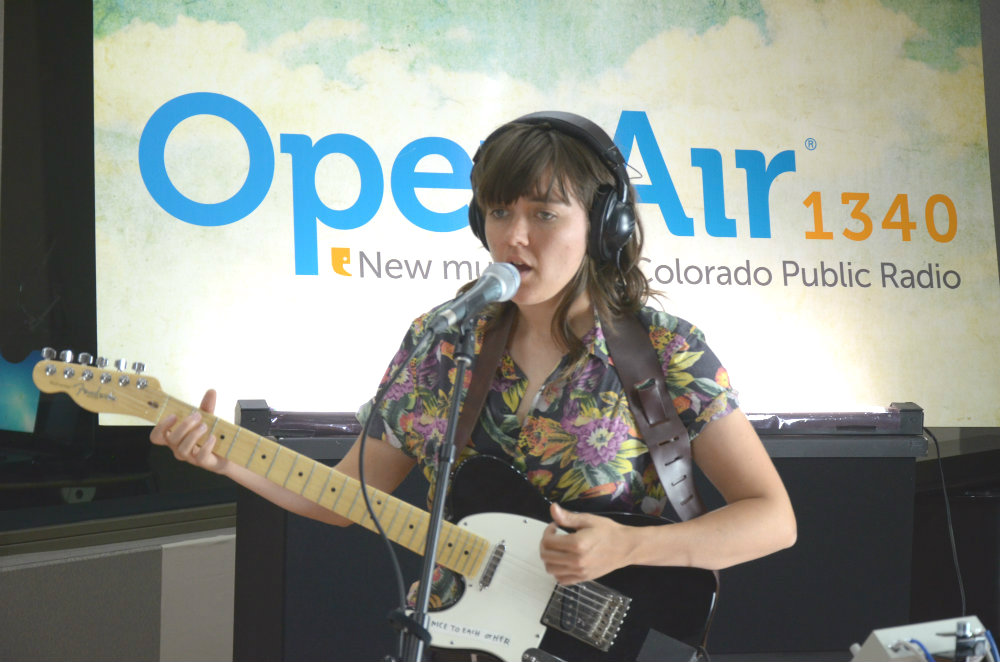 photo: Courtney Barnett at OpenAir