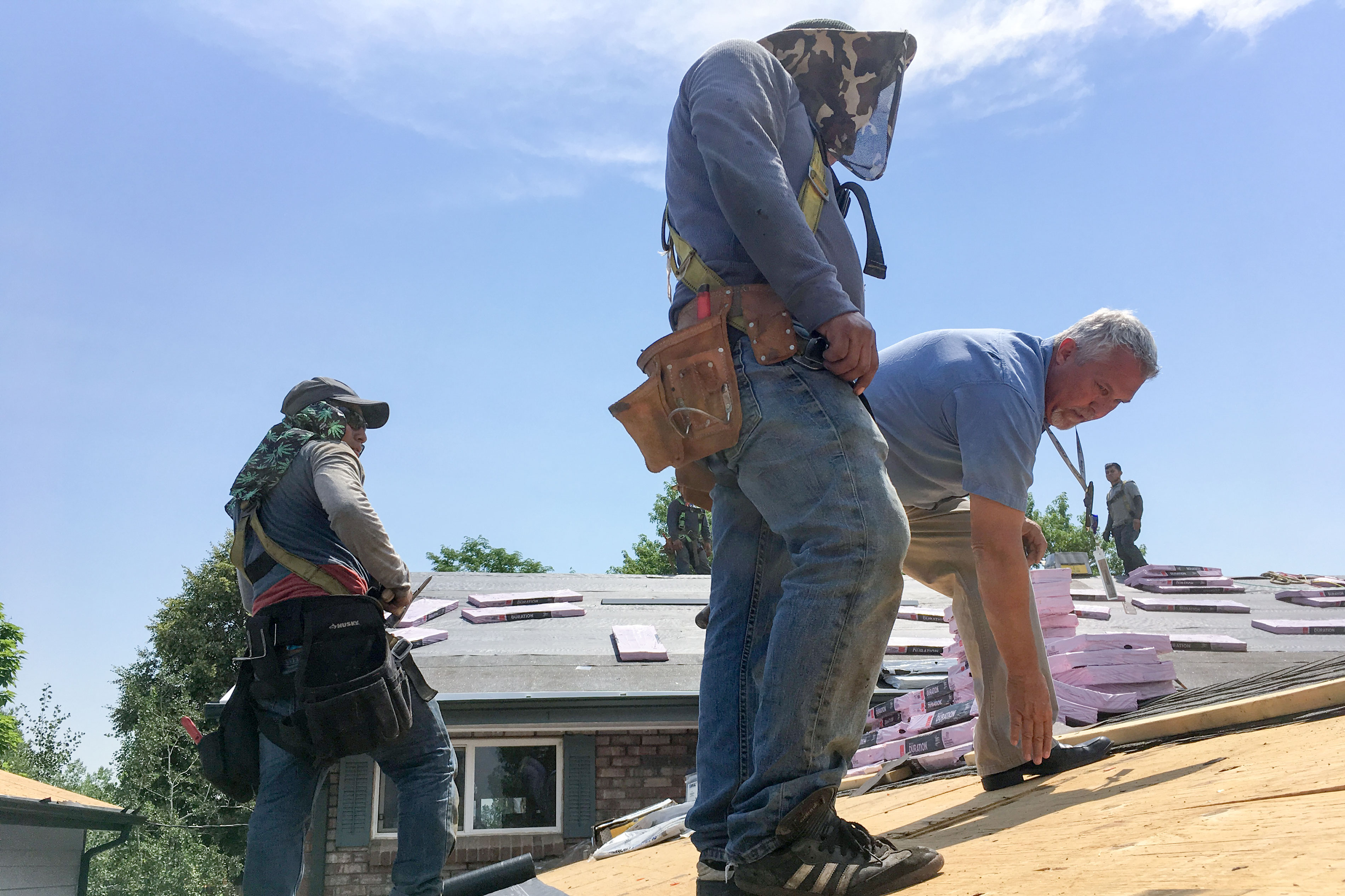 """<p dir=""""ltr"""">Chief Building Inspector Brian Tardif does a mid-roof inspection in Wheat Ridge. He says he understands frustrations among homeowners and contractors, but the mid inspections are in place to protect people from roofing companies that may be working too quickly.</p>  <div></div>"""