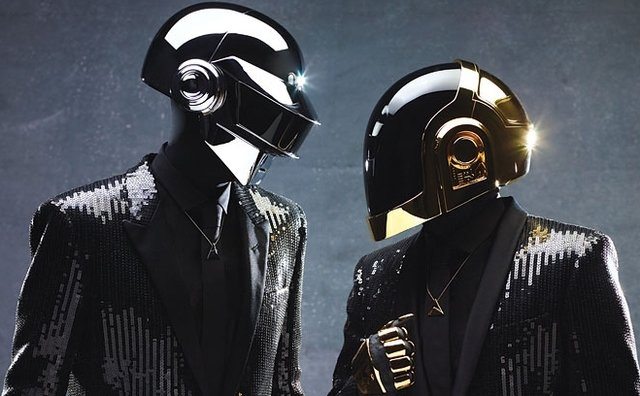 photo: Daft Punk press