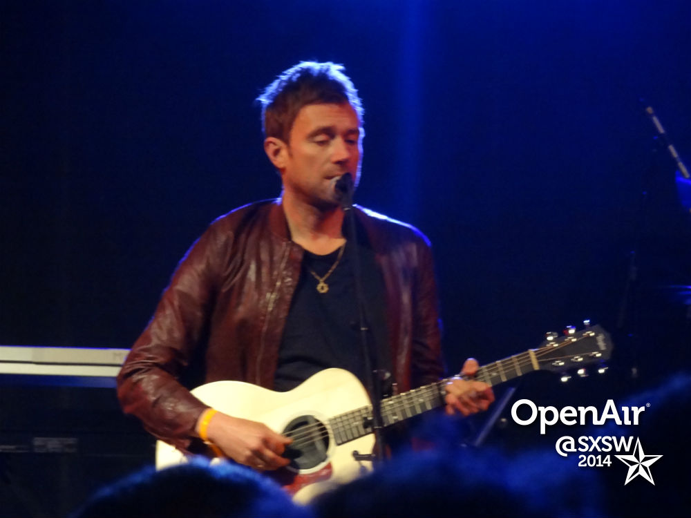 photo: Damon Albarn at SXSW
