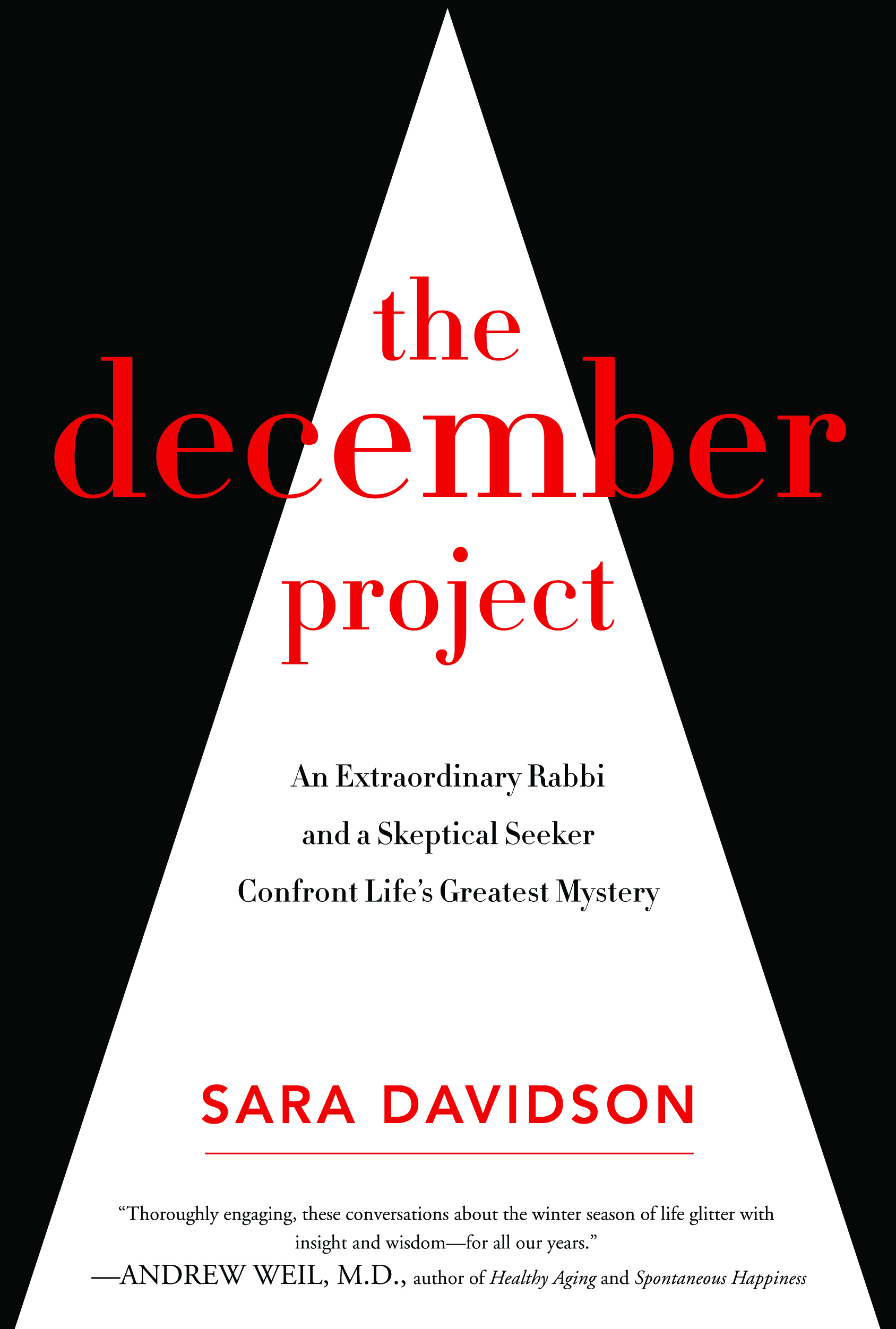 Photo: 'The December Project' book cover
