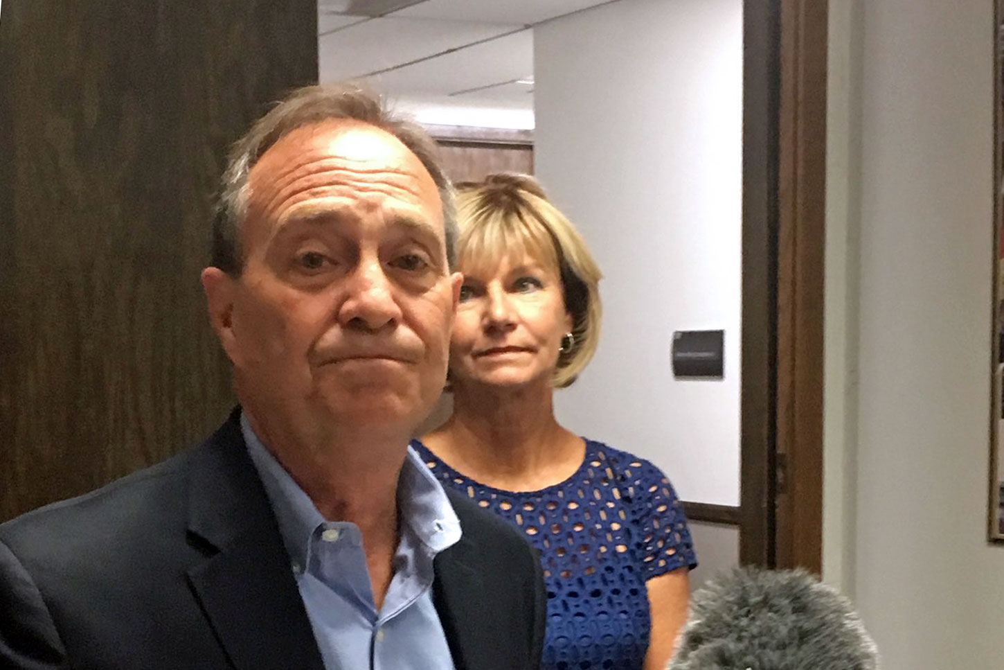 <p>Stepping out of the race, an emotional Rep. Ed Perlmuttersaid the Democratic gubernatorial primary was going to take more energy than he had.</p>