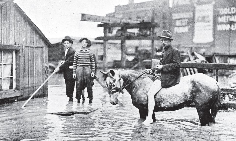 Photo: Denver Flood of 1912
