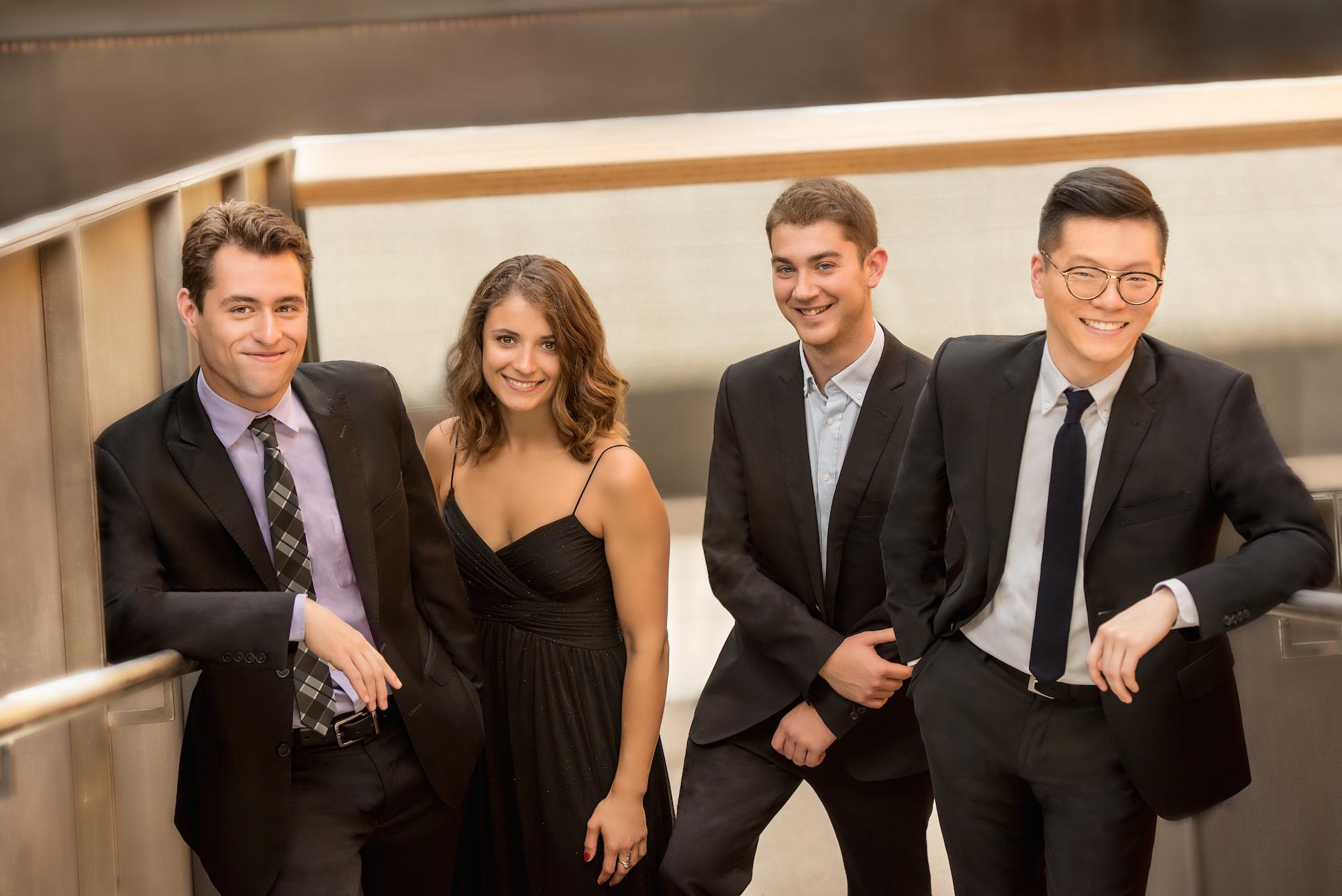 <p>The Dover Quartet</p>