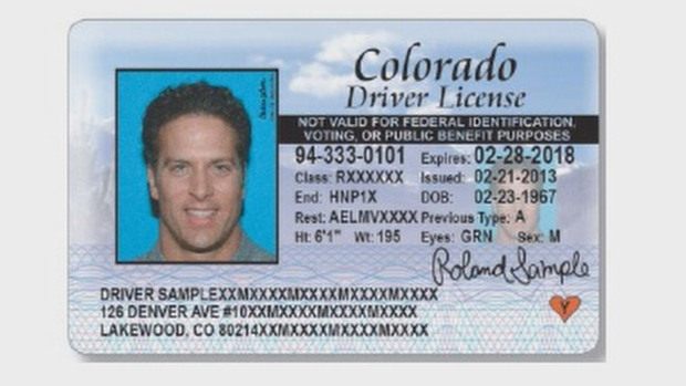 Photo: Non-citizen driver's license