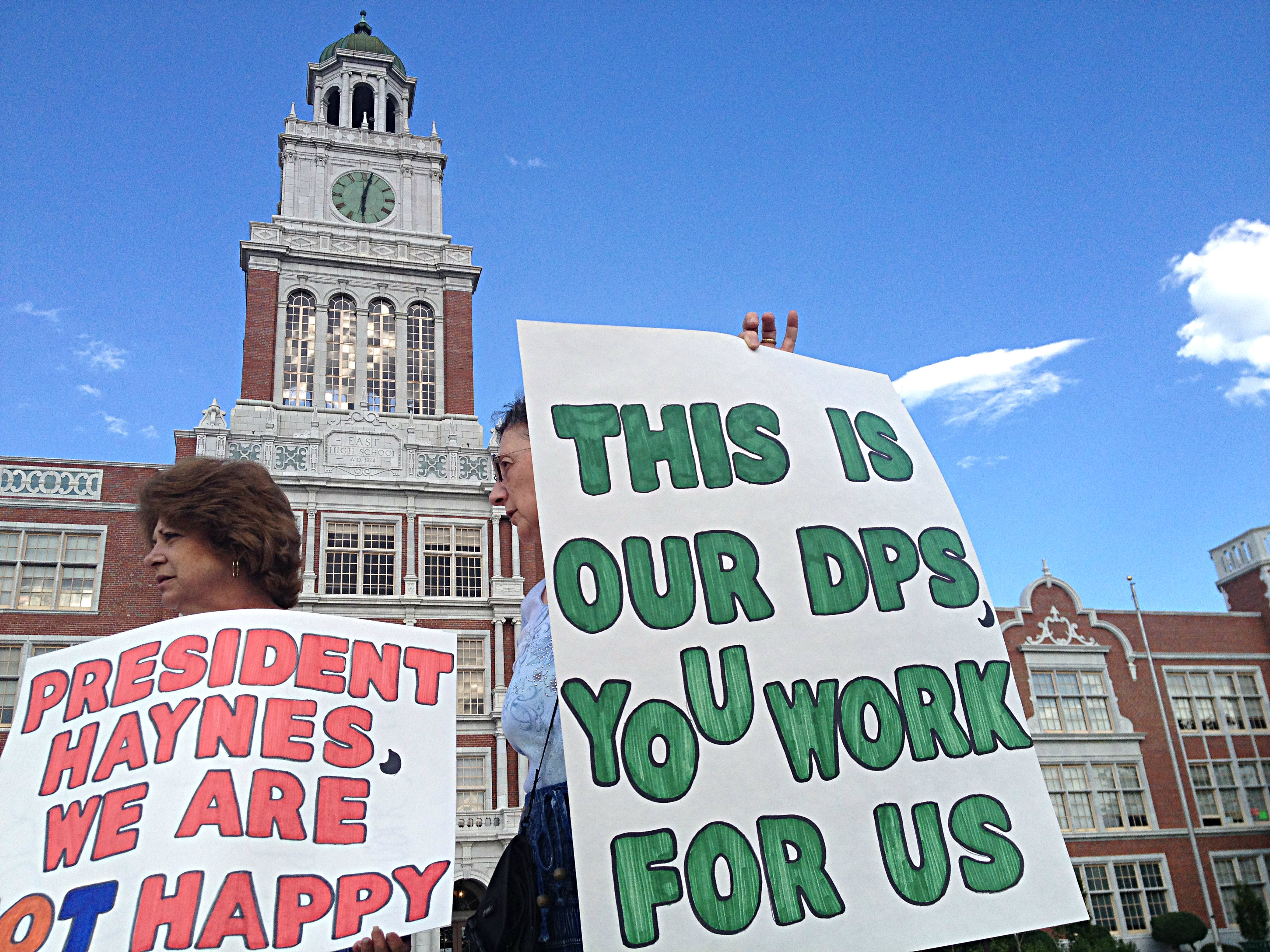 Photo: East High School demo