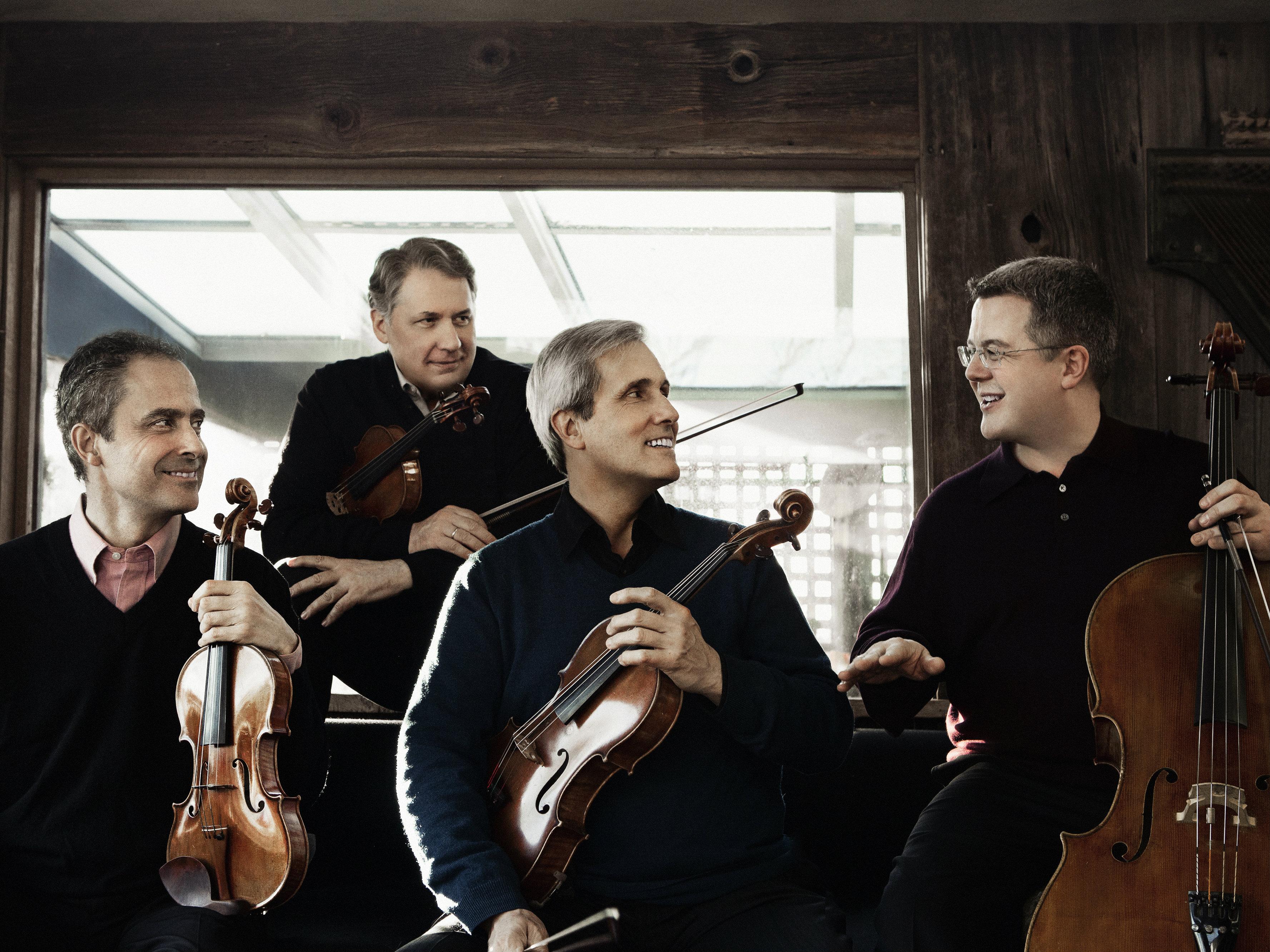 Photo: Emerson String Quartet