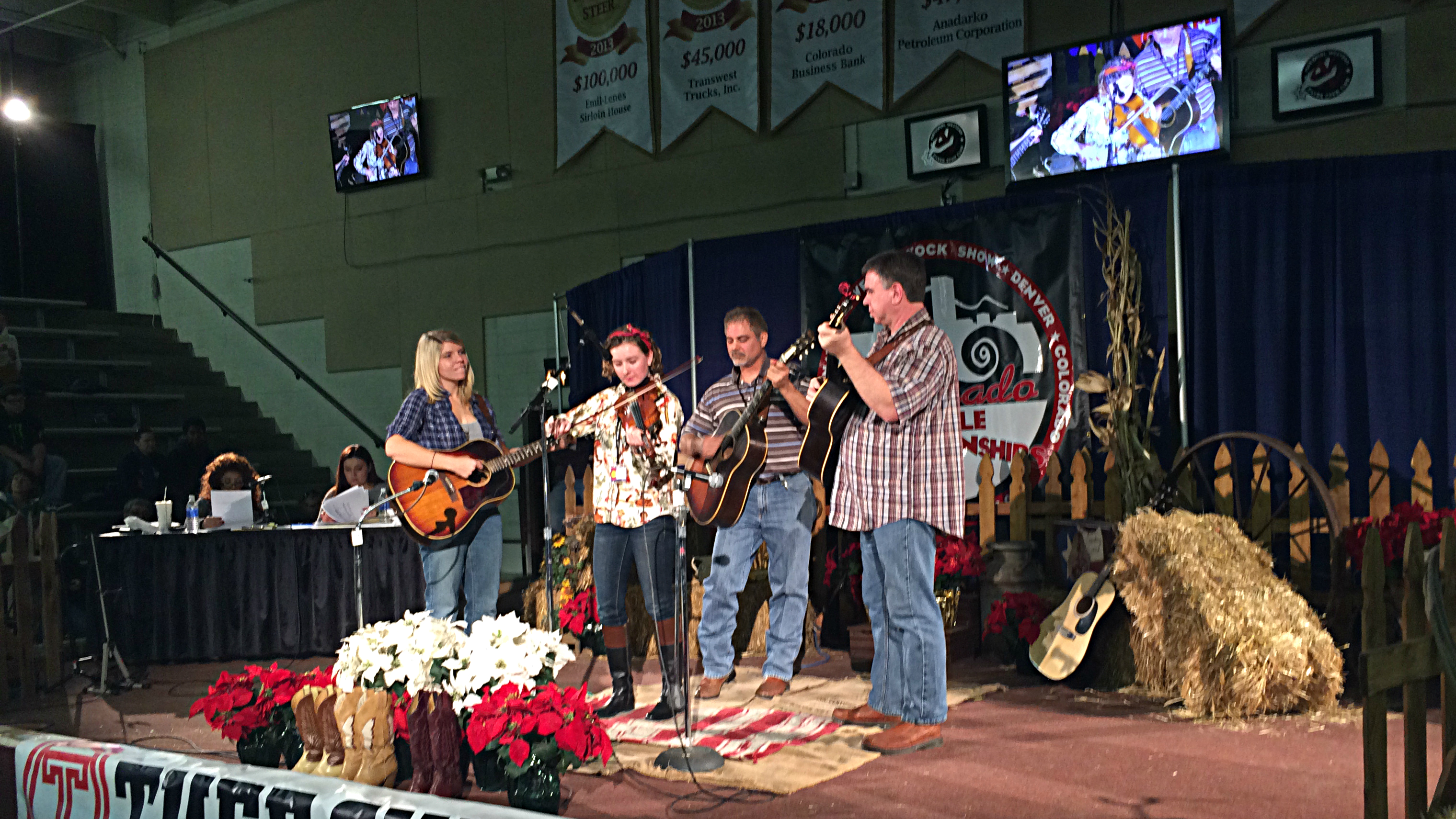 Photo: Fiddle Competition at National Western Stock Show