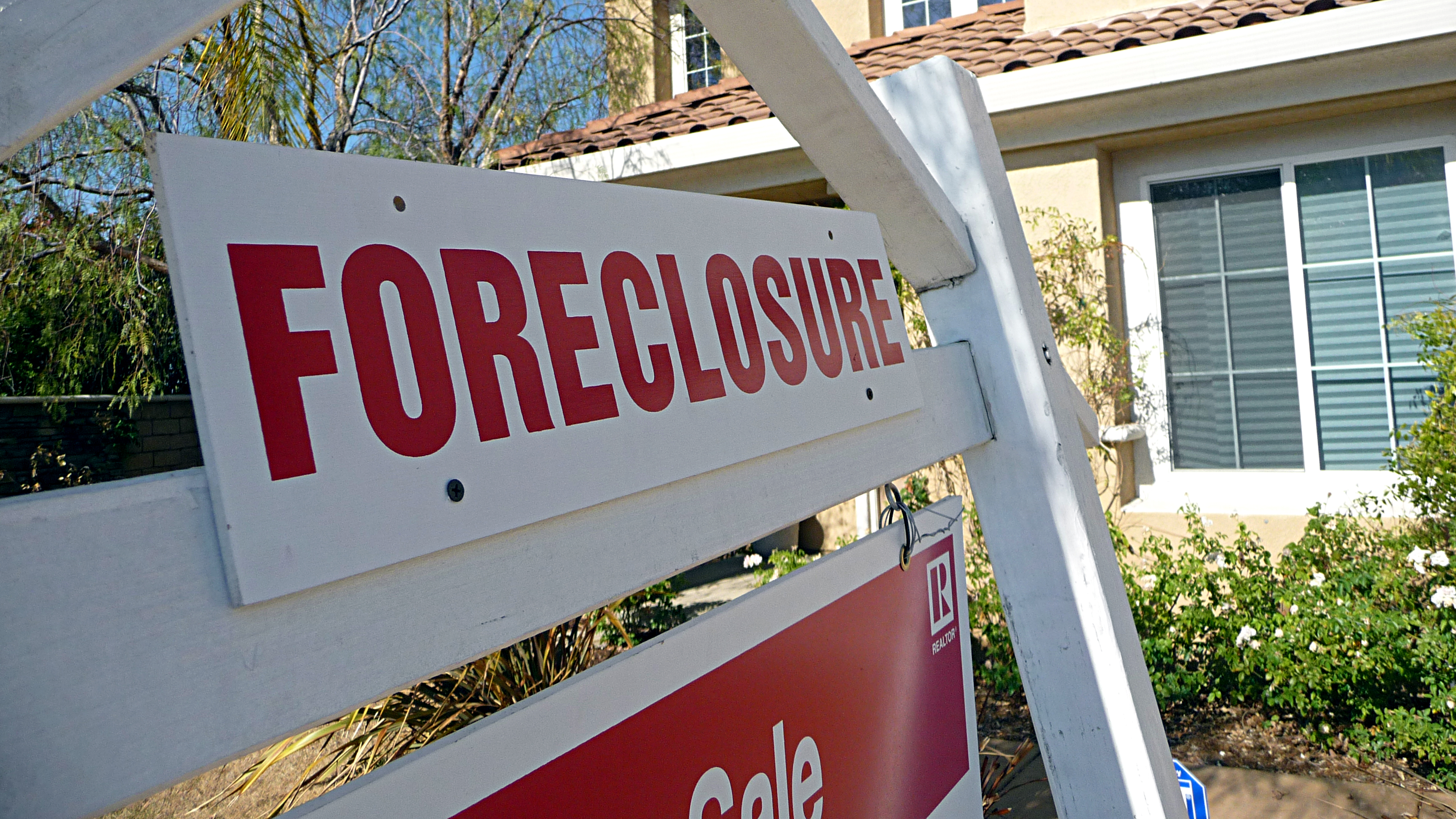 Photo: Foreclosure sign