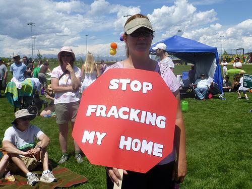 Photo: Fracking