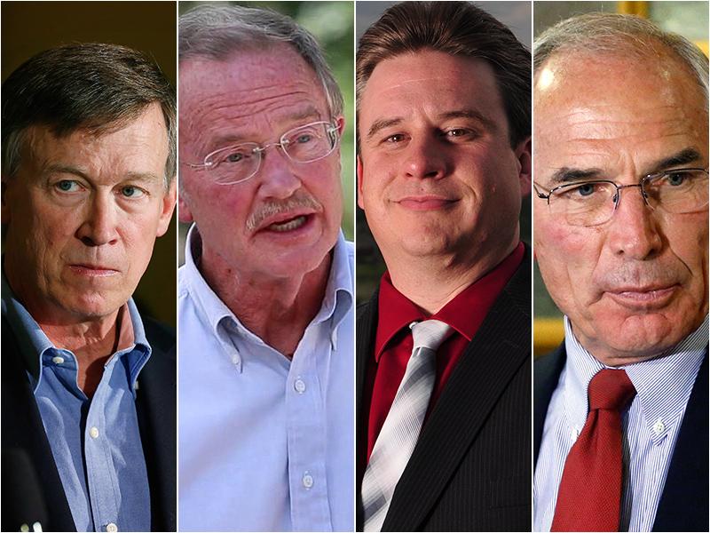 Photo: Gubernatorial candidates