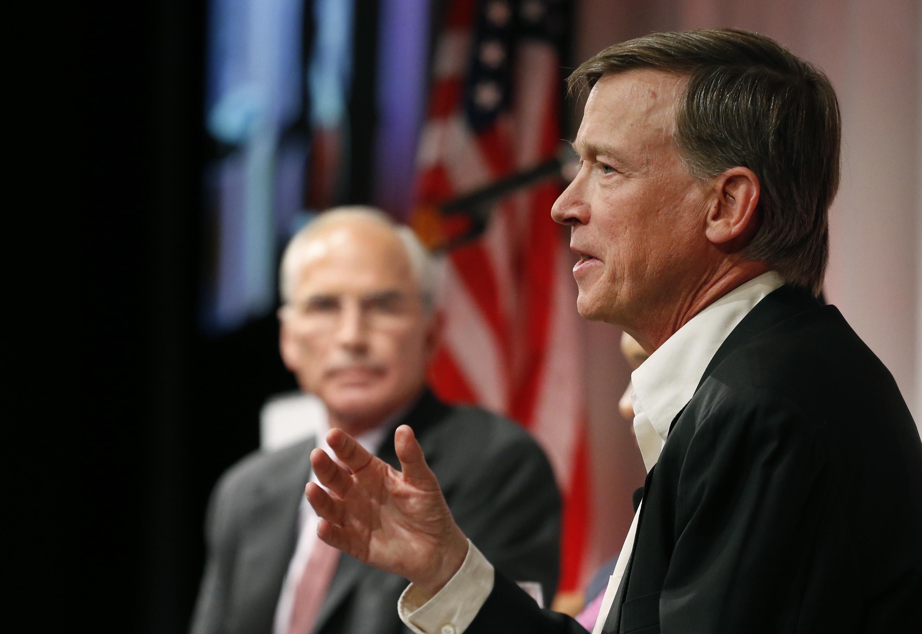Photo: Colorado Gov. John Hickenlooper (AP Photo)