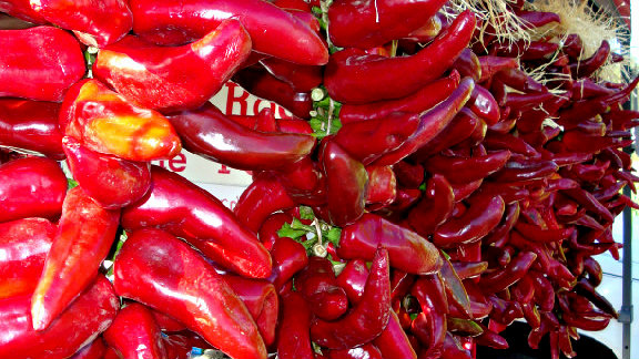 Photo: Hot chile peppers