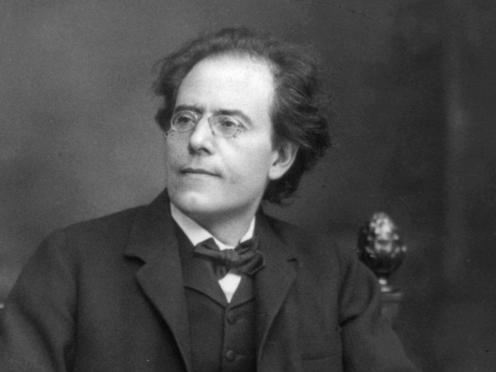 Photo: Gustav Mahler horizontal crop