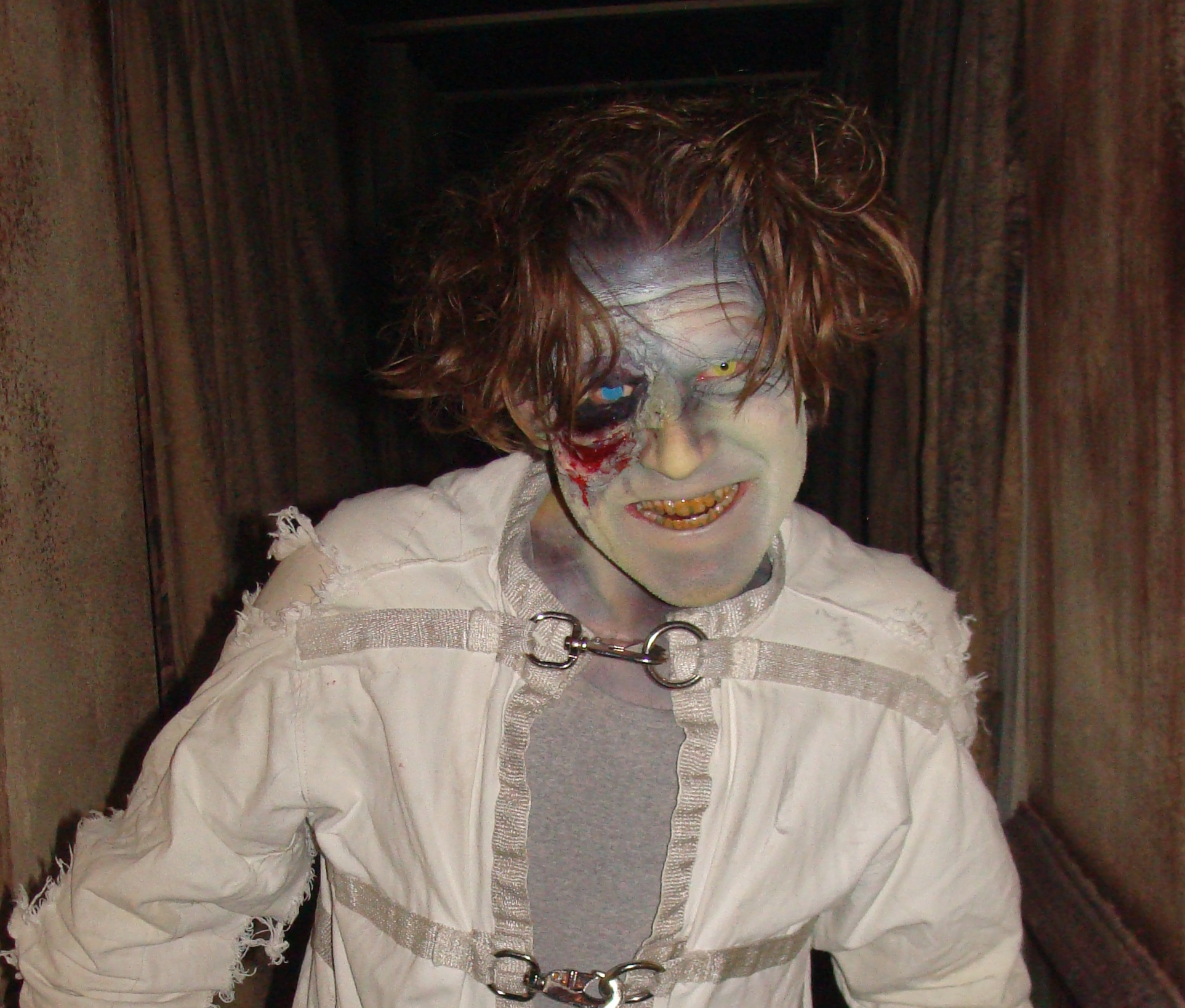 Photo: haunted house actor Jesse Buchholz