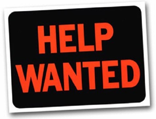 Photo: 'Help Wanted' sign (stock image: unemployment, etc)