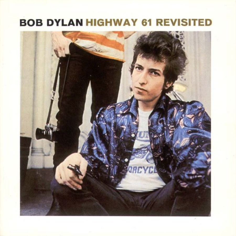 photo: Bob Dylan Highway 61 Revisited album cover
