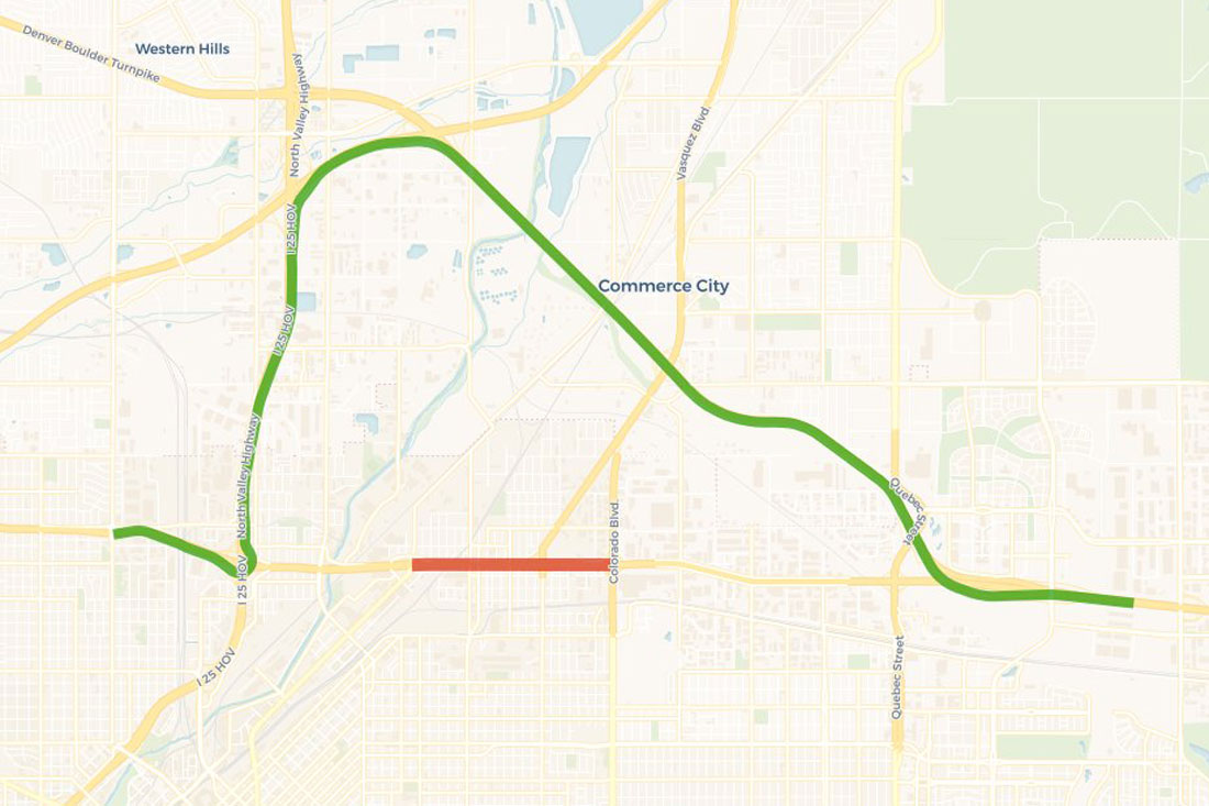 <p>Motorists should expect a full eastbound and westbound closure of Interstate 70 from Brighton to Colorado boulevards from 10 p.m. to 6 a.m. on Friday, Jan. 4, 2019.</p>