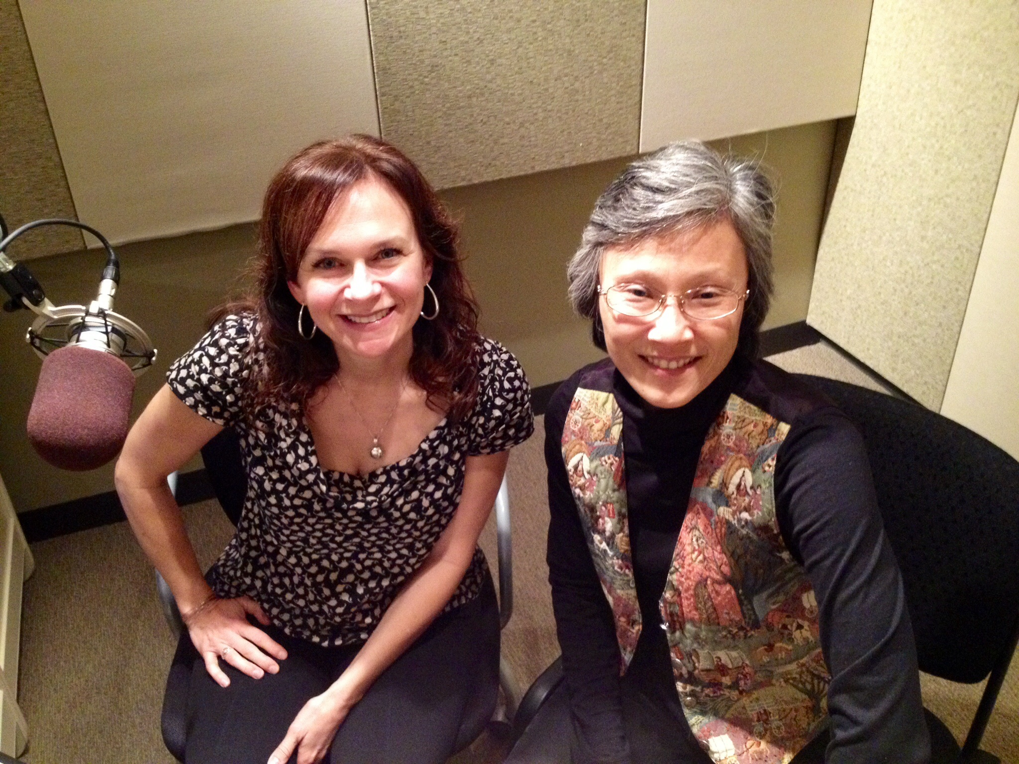 <p>CPR Classical's Monika Vischer and Jean Inaba</p>