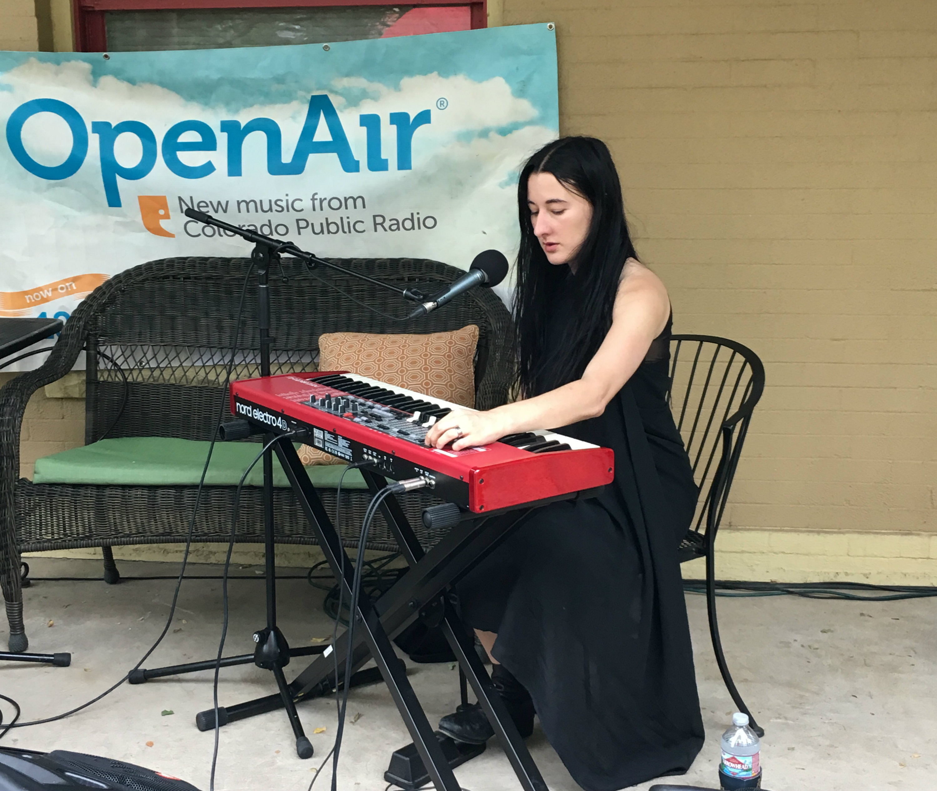 Photo: Zola Jesus at UMS 2017 Porch Sessions