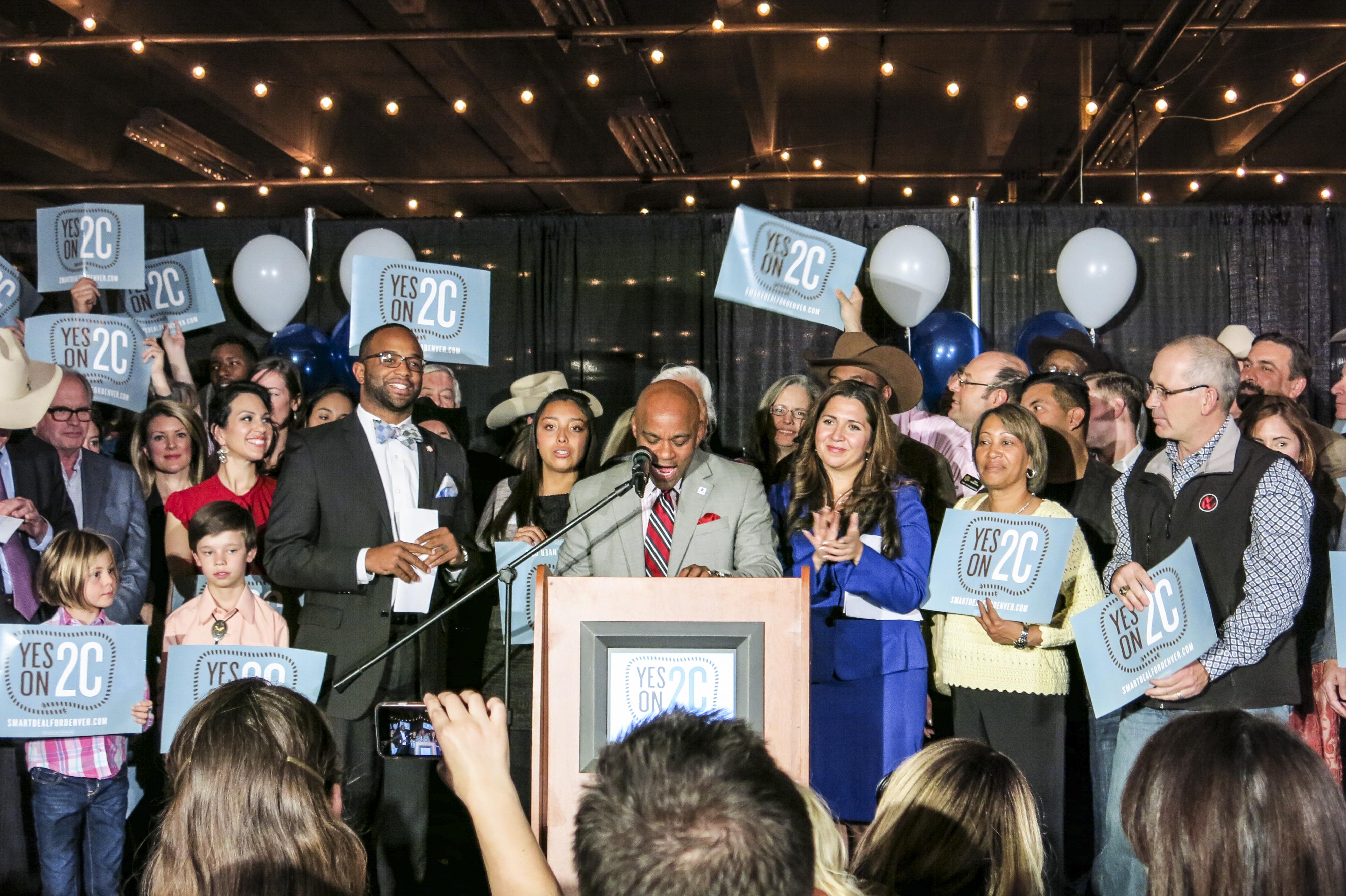Photo: Mayor Hancock At National Western (Staff)