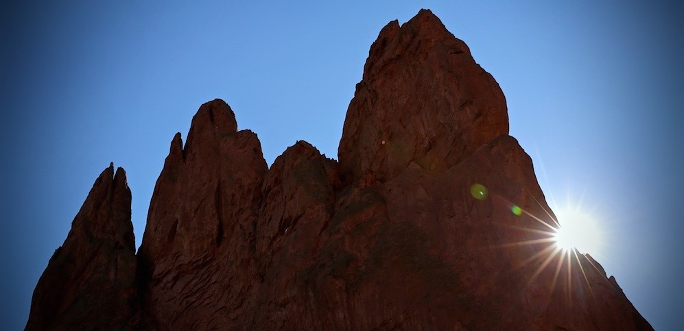 <p>Garden of the Gods near Colorado Springs.</p>
