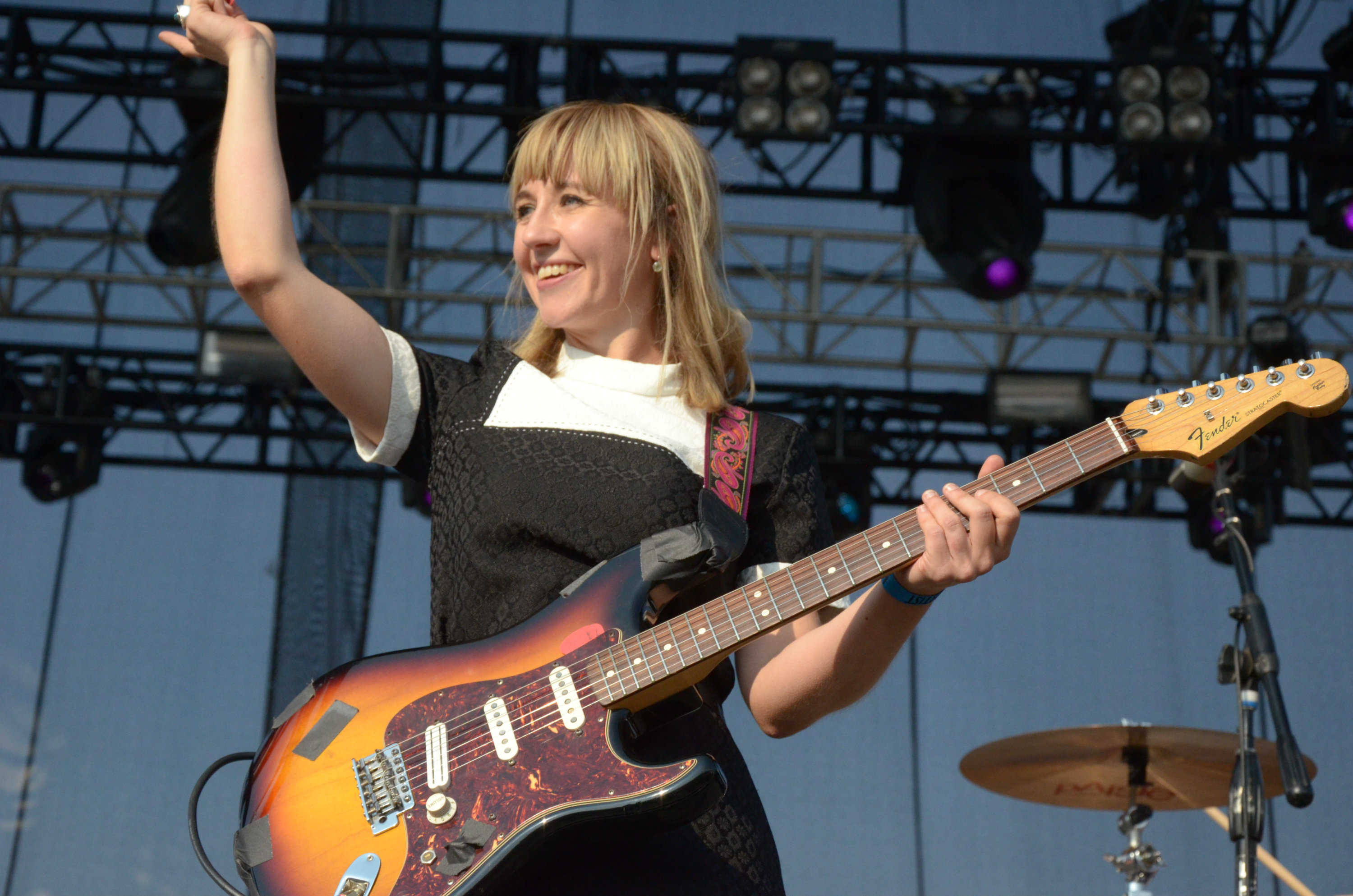 Photo: The Joy Formidable at Riot Fest 2015