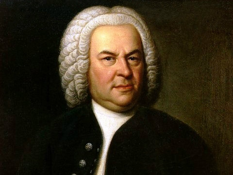 Photo: J.S. Bach, composer,horizontal