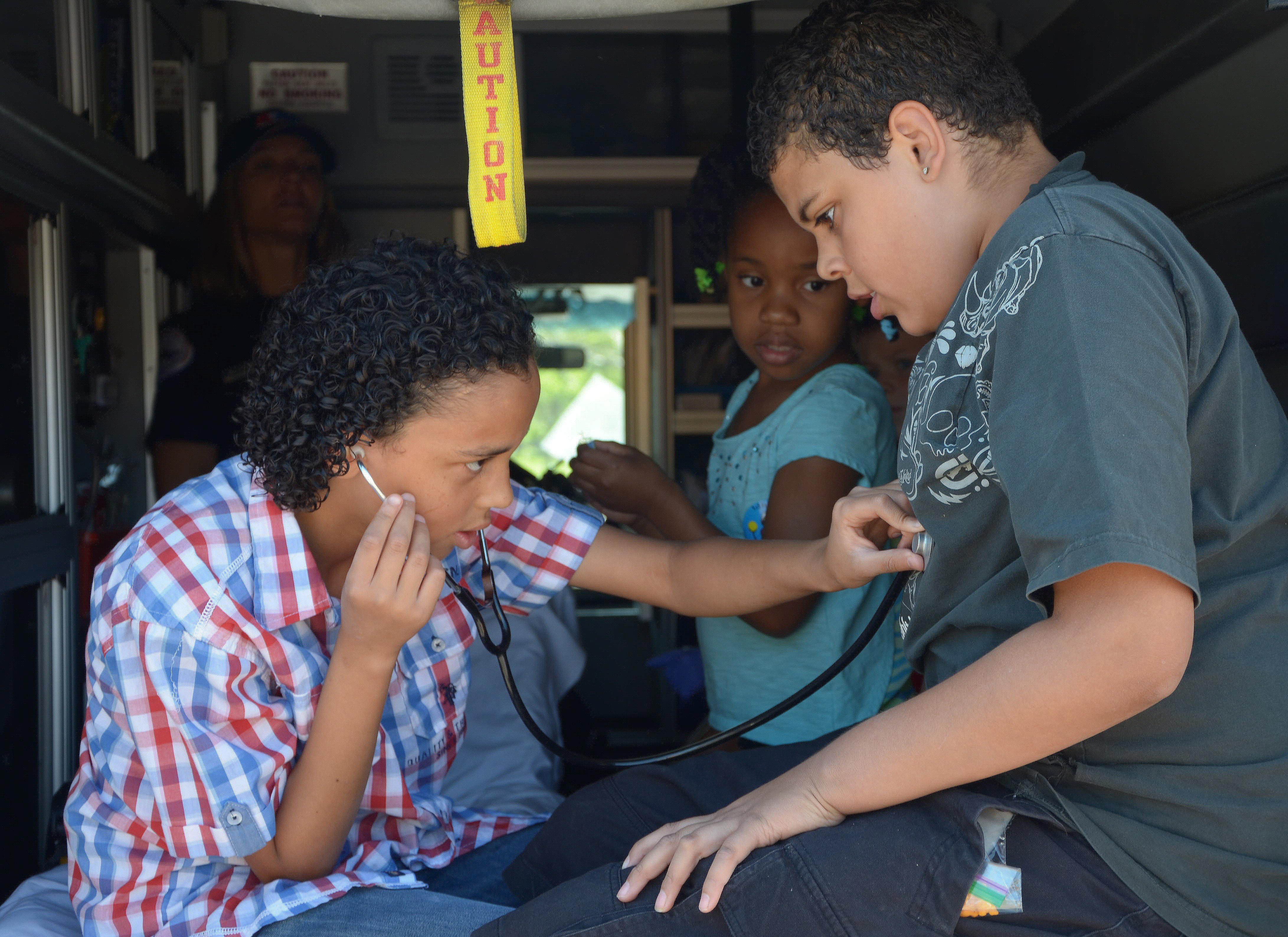Photo: Katrina Haselgren, Dimitri Haselgren, Elijah Jones, kids in poverty, stress and the brain
