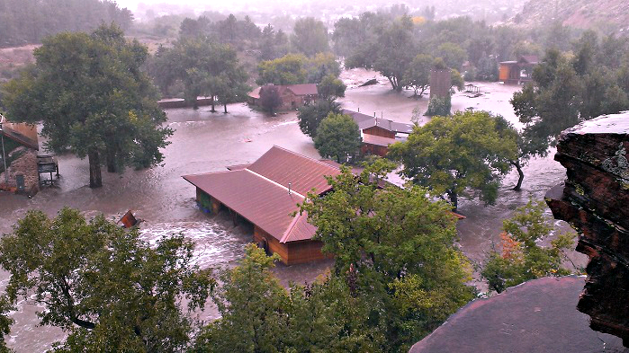 Photo: Lyons flood