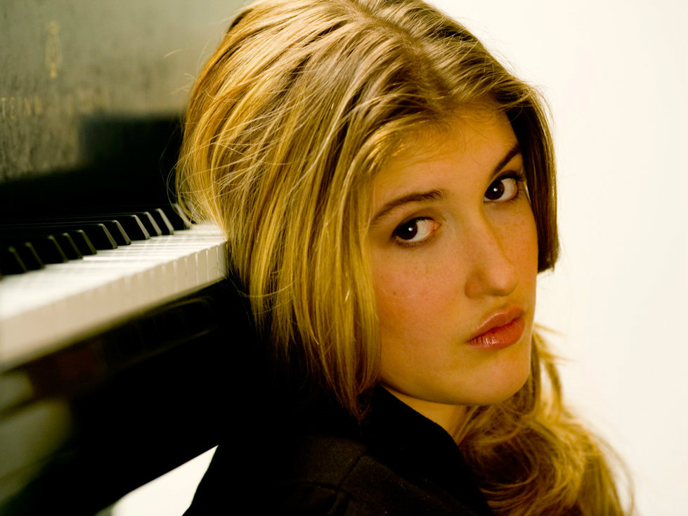 Photo: pianist Marika Bournaki