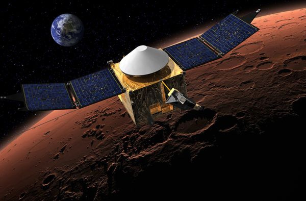 PHOTO: Mars MAVEN illustration