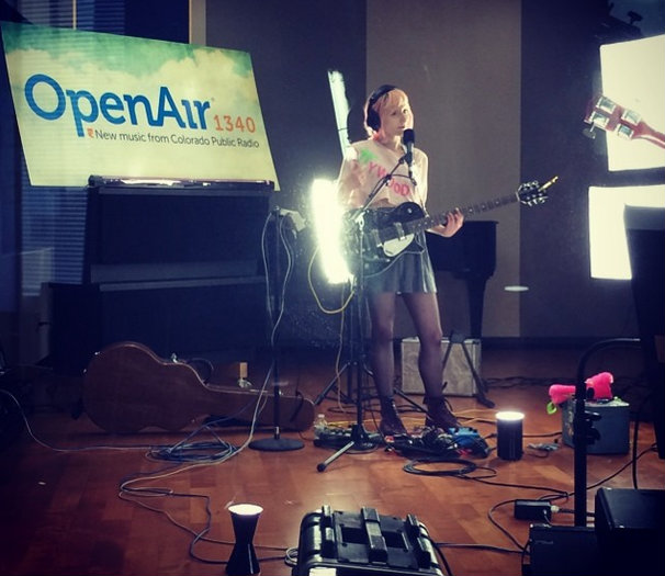 photo: Jessica Lea Mayfield at OpenAir