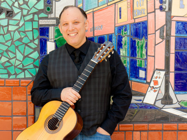 Photo: Michael Anthony Nigro, classical guitarist