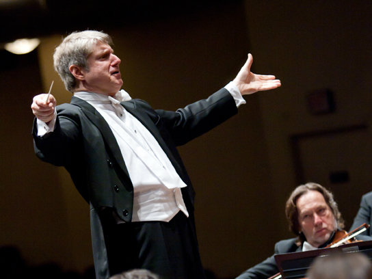 Photo: Conductor Michael Stern