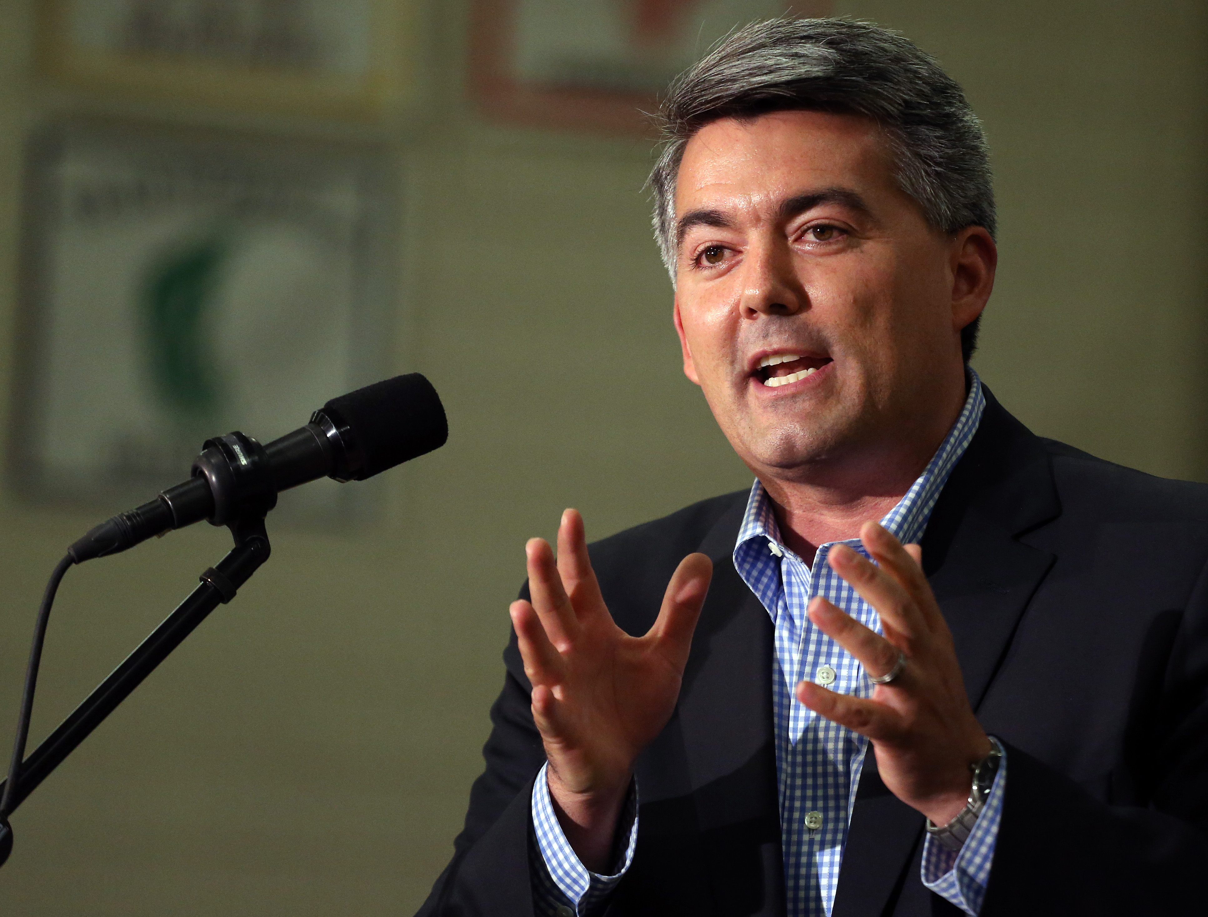 Photo: Rep. Cory Gardner (AP Photo)
