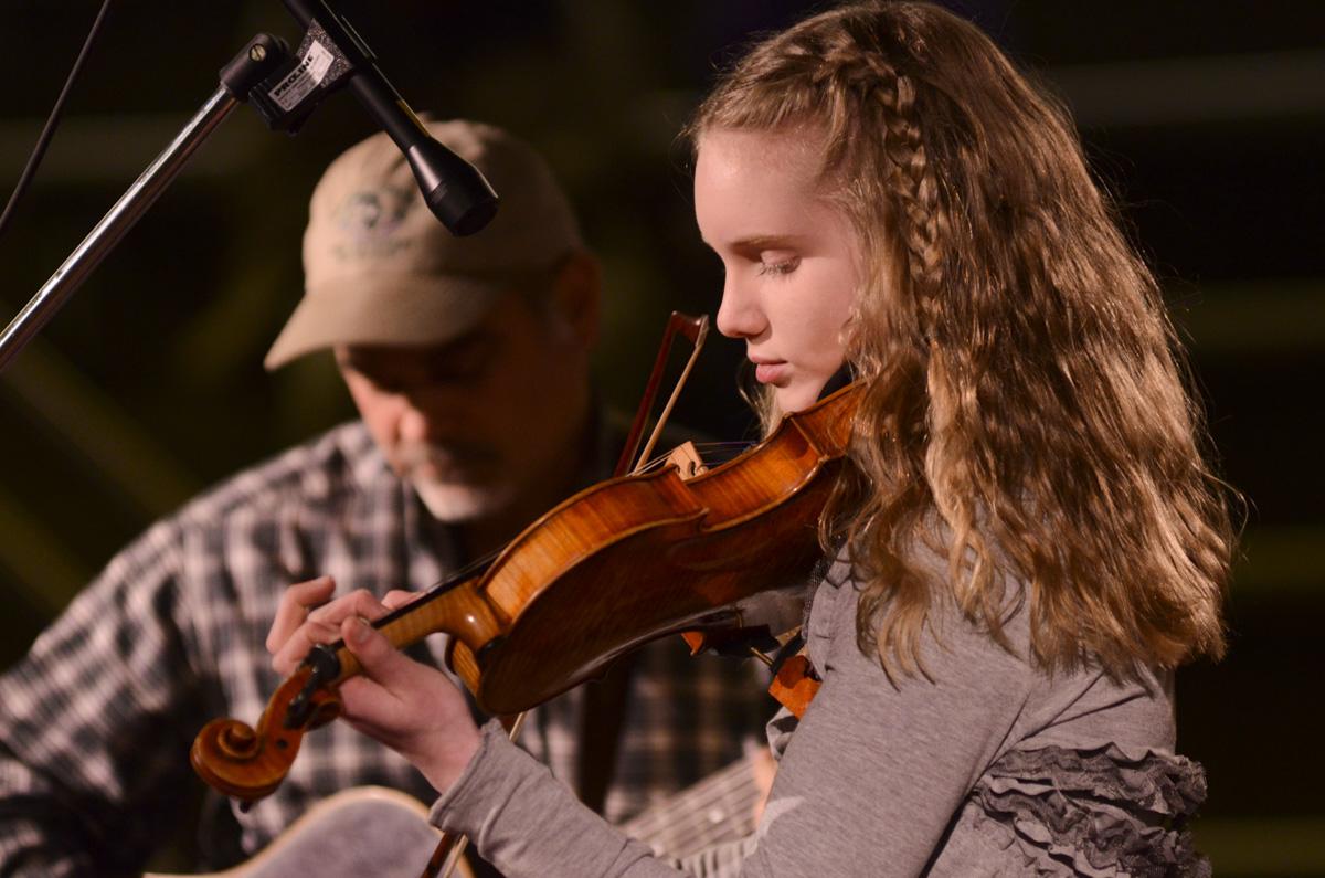 Photo: Fiddler Annika Bennion